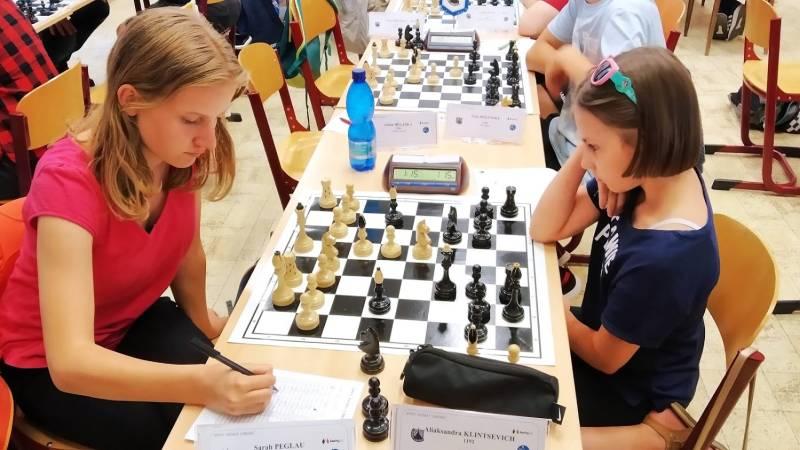 Sarah Peglau (GER) - Aliaksandra Klintsevich (POL), souboj dívčích nadějí