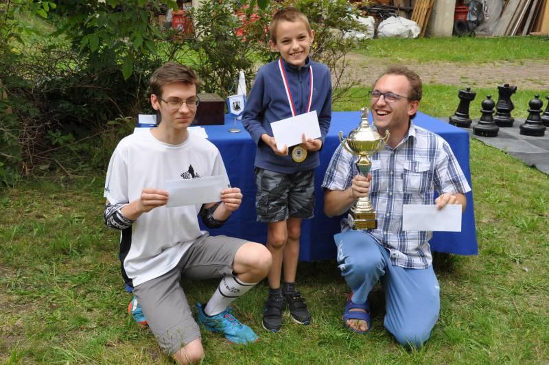 Stupně vítězů Open Desko Liberec 2020